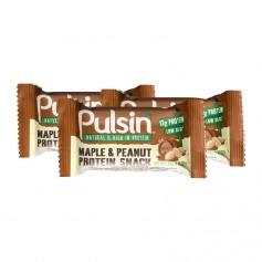 3 x Pulsin Maple & Peanut Protein Snack, Riegel