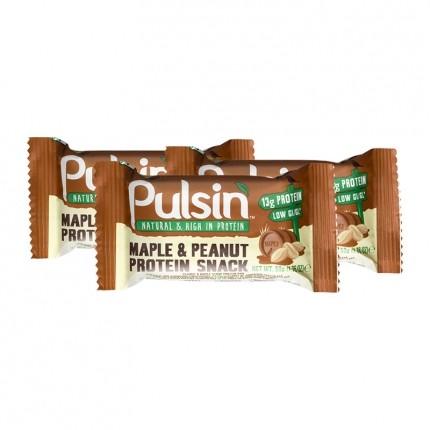 Pulsin Protein Snack, Ahorn-Erdnuss