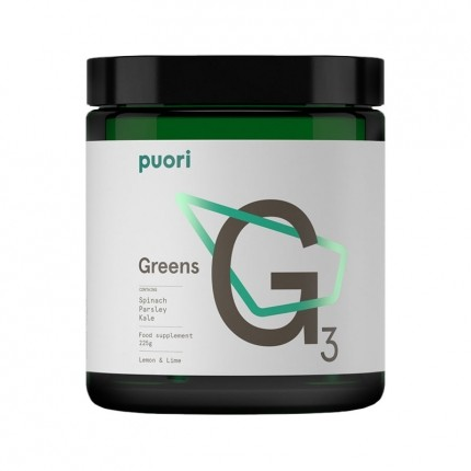 puori Greens Bio, Lemon-Lime