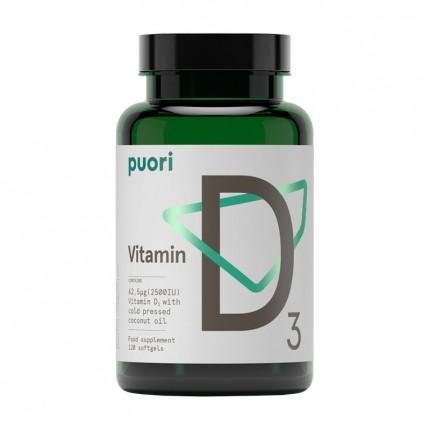 PurePharma Vitamin D3, kapslar
