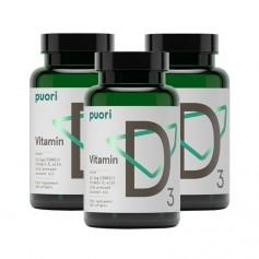 3 x PurePharma Vitamin D3, Kapseln