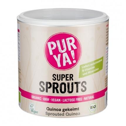 PUR YA! Bio Super Sprouts Quinoa gekeimt, Pulver