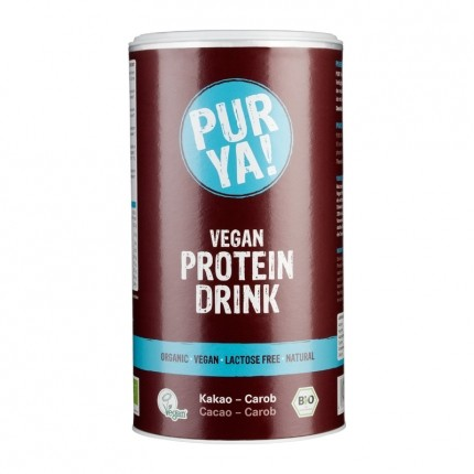 PUR YA! Bio Vegan Protein Drink, Kakao-Carob, P...