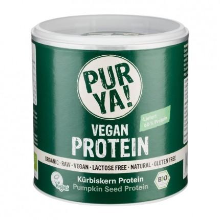 PUR YA! Bio Vegan Protein Kürbis Protein, Pulver
