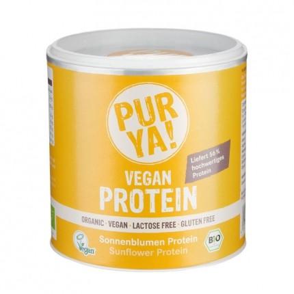 PURYA! Bio Vegan Protein - Sonnenblumen Protein, Pulver