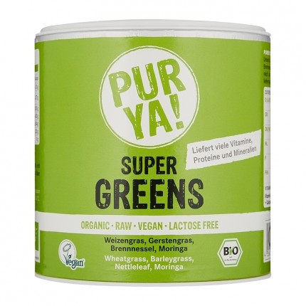 PUR YA! Bio Super Greens, Smoothie-Pulver (150 g)