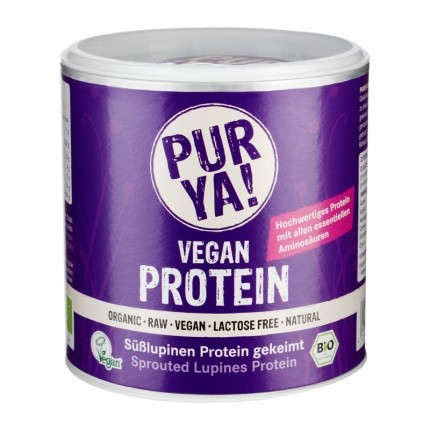 PUR YA! Bio Vegan Protein Süßlupinen Protein ge...