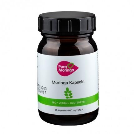 PURA MORINGA Bio Moringa-Shots Purer Geschmack, Kapseln