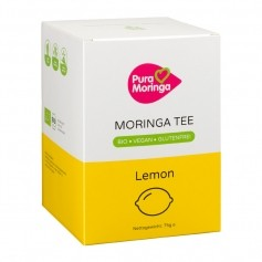 PURA MORINGA Bio Moringa-te med ingefära-citron