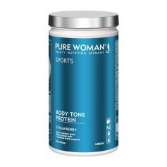 Pure Woman Body Tone Protein Fraises, poudre