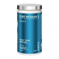 Pure Woman Body Tone Protein vanilj, pulver