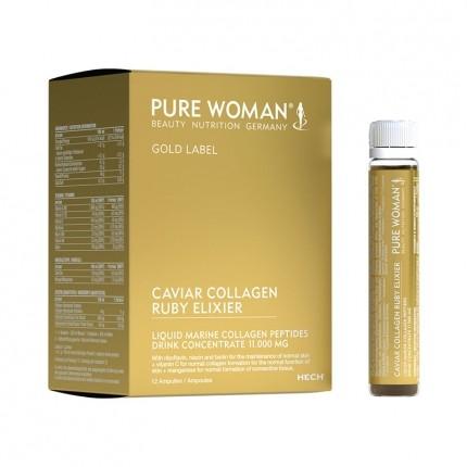 Pure Woman Gold Label Caviar Collagen Ruby Elixier