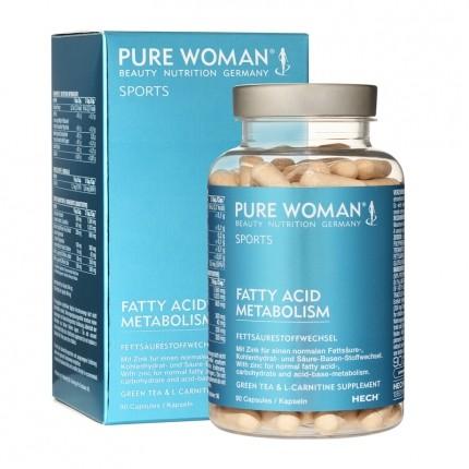 Pure Woman Grønn te karnitin, kapsler