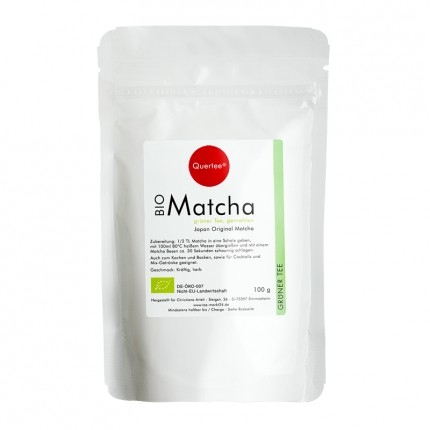 Quertee Bio Matcha, Pulver