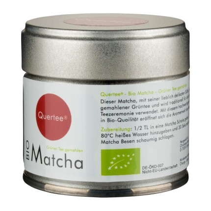 Quertee Bio Matcha, Pulver (30 g)