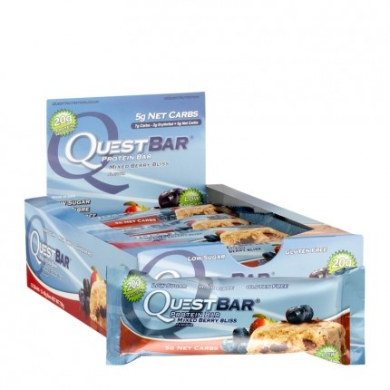 Quest Nutrition Quest Bar Mixed Berry Bliss