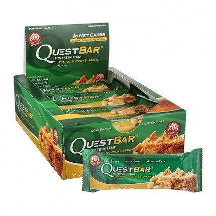 Quest Nutrition Quest Bar Peanut Butter Supreme