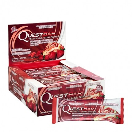 Quest Nutrition Quest Bar, Strawberry Cheesecake