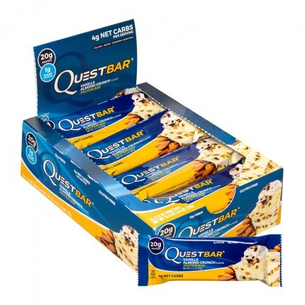 Quest Nutrition Quest Bar Vanilla Almond Crunch