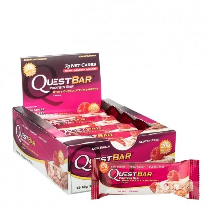 Quest Nutrition Quest Bar White Chocolate Raspberry