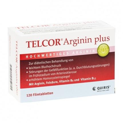 Quiris Telcor Arginin plus, Filmtabletten