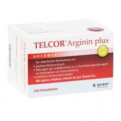 Quiris Telcor Arginin plus Filmtabletten
