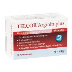 Quiris Telcor Arginin plus, Beutel
