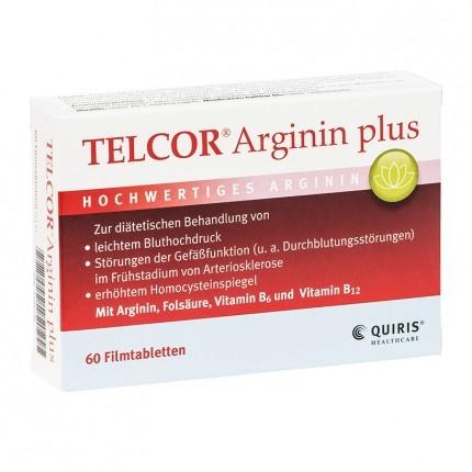 Quiris Telcor Arginin plus (60 Tabletten)