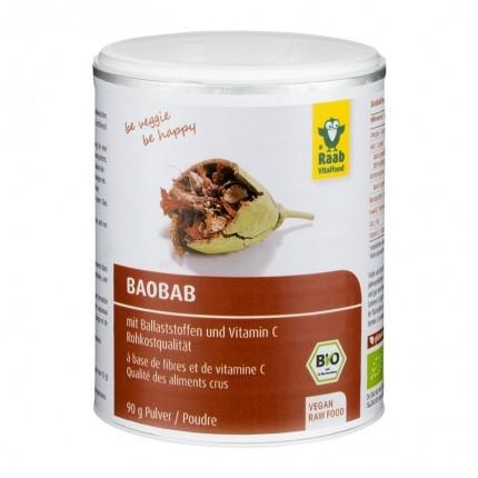 Raab Vitalfood Bio Baobab, Pulver