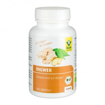Raab Vitalfood Ingwer, Tabletten