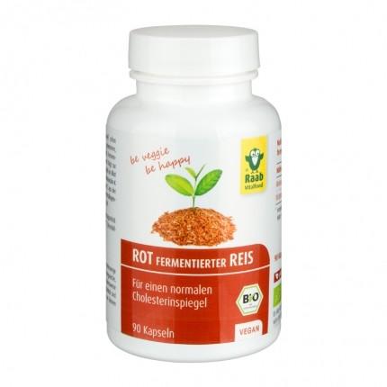 Raab Vitalfood Bio Rot fermentierter Reis