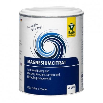Magnesium Citrat, Pulver (200 g)