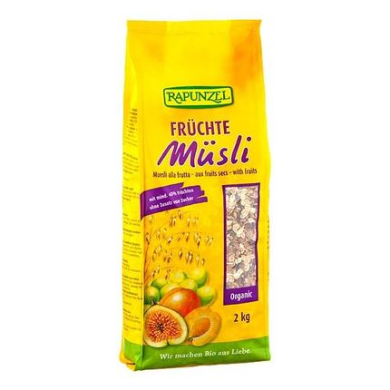 RAPUNZEL Bio Früchte Müsli (2000 g)