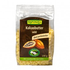 RAPUNZEL Bio Kakaobutter-Chips mild