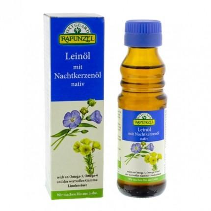 RAPUNZEL Bio Leinöl mit Nachtkerzenöl (100 ml)