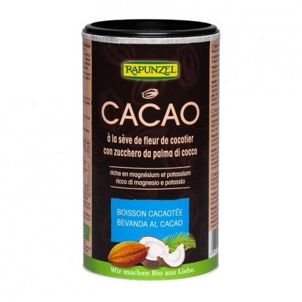 Rapunzel Kakao mit Kokosblütenzucker