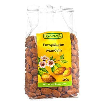 Bio Europäische Mandeln (500 g)