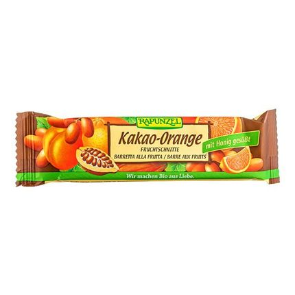 6 x RAPUNZEL økologisk fruktbar med kakao og appelsin
