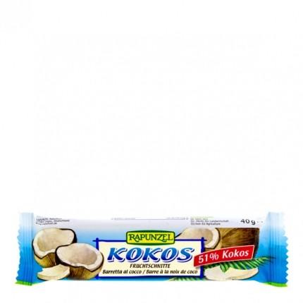 6 x RAPUNZEL økologisk kokos-bar