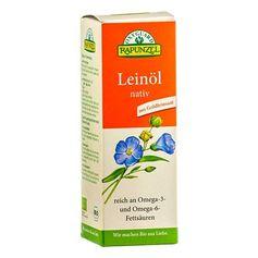RAPUNZEL økologisk linfrø-olje, virgin