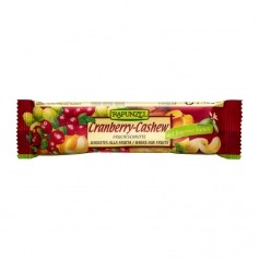 RAPUNZEL Organic Fruit Bar Cranberry-Cashew