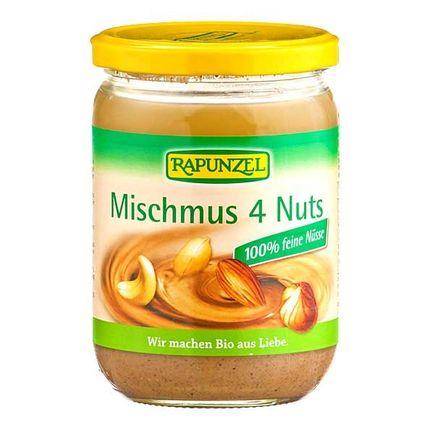 RAPUNZEL, Mélange de purée 4 noix bio