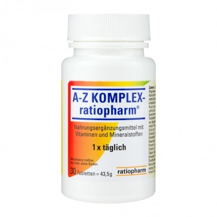 Ratiopharm A-Z Complex Tablets