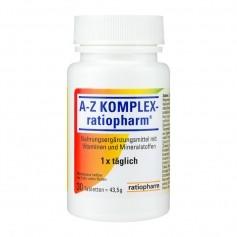 A-Z Komplex-ratiopharm, Tabletten