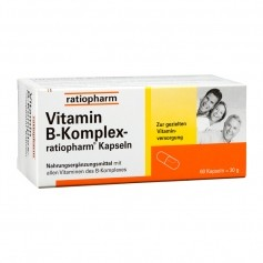 RatioPharm Vitamin B Complex Capsules