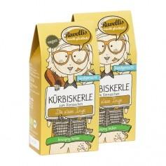 2 x Ravellis Bio-Kürbiskerne Ingwer Karamell