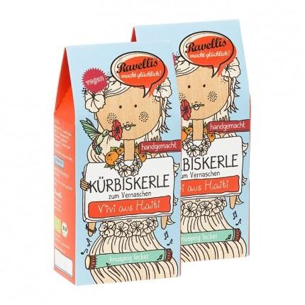 Ravellis Bio Kürbiskerne, Dunkle Schoko-Orange
