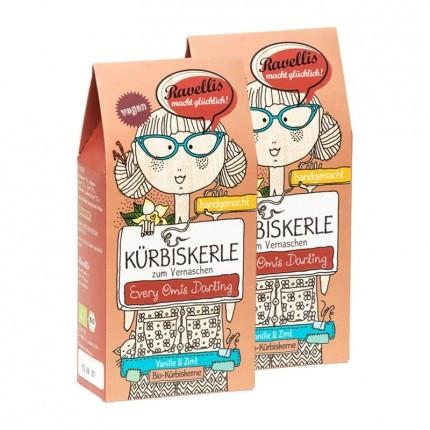 Ravellis Bio Kürbiskerne Every Omis Darling, Zimt-Vanille