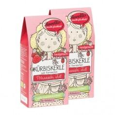 2 x Ravellis Bio-Kürbiskerne Weiße Schoko Erdbeere