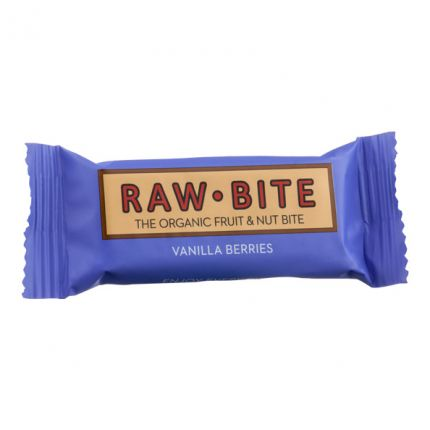 3 x Raw Food Raw Bite Vanilla Berry, Riegel